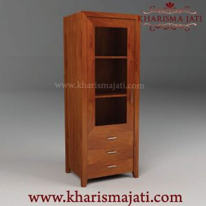 ABBEY GLASS CABINET, kharisma jati