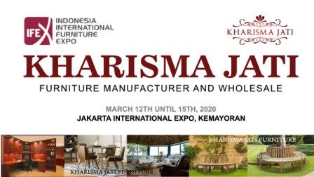 kharisma jati ifex 2020 furniture exhibition