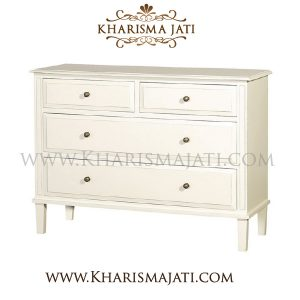 LILY CHEST 4 DRAWER, KHARISMA JATI