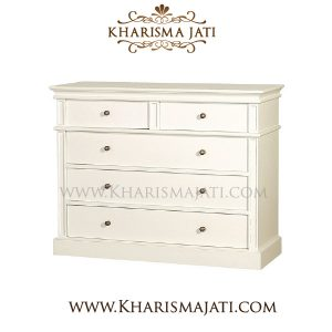 lily chest 5 drawer, kharismajati indonesia furniture manufacture