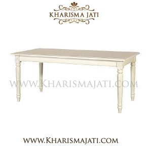 LILY DINNING TABLE, Kharisma Jati