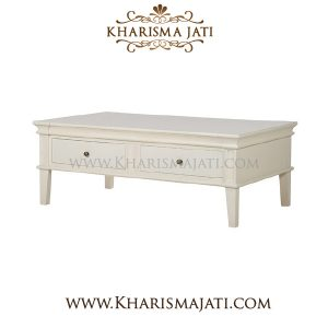LILY SQUARE COFFEE TABLE, Kharisma Jati