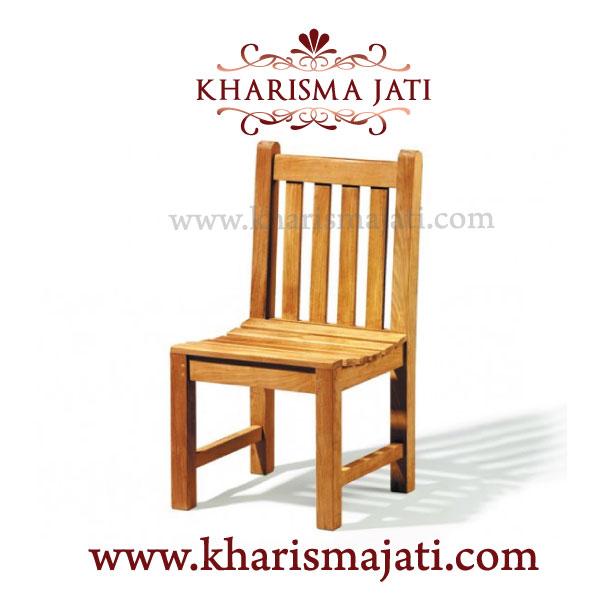 Whale garden chair, kharisma jati