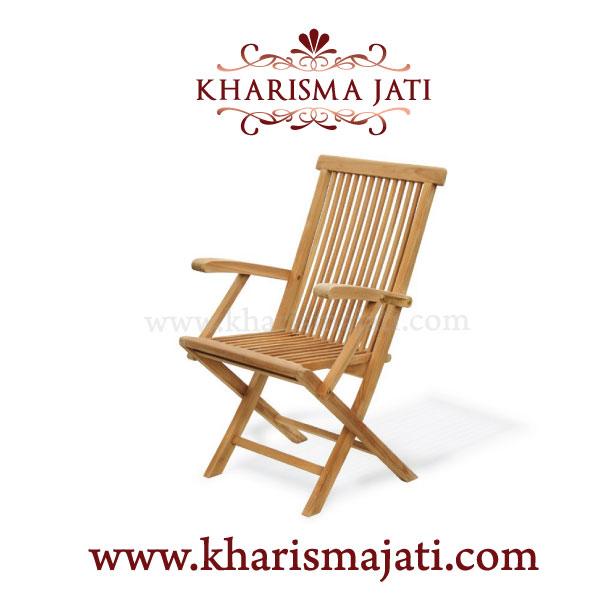 folding armchair standard, kharismajati, indonesia furniture manufacture and wholesale