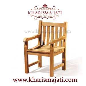 whale garden armchair, kharisma jati
