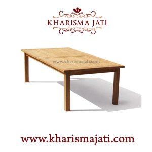 Gladstone dinning table, kharisma jati