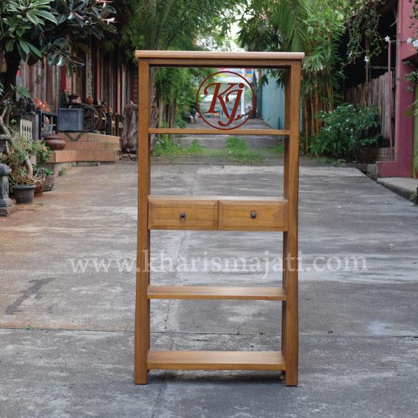 canary book rack high. kharismajati indonesia furniture manufacture