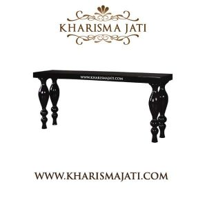 emille console table, kharisma jati furniture