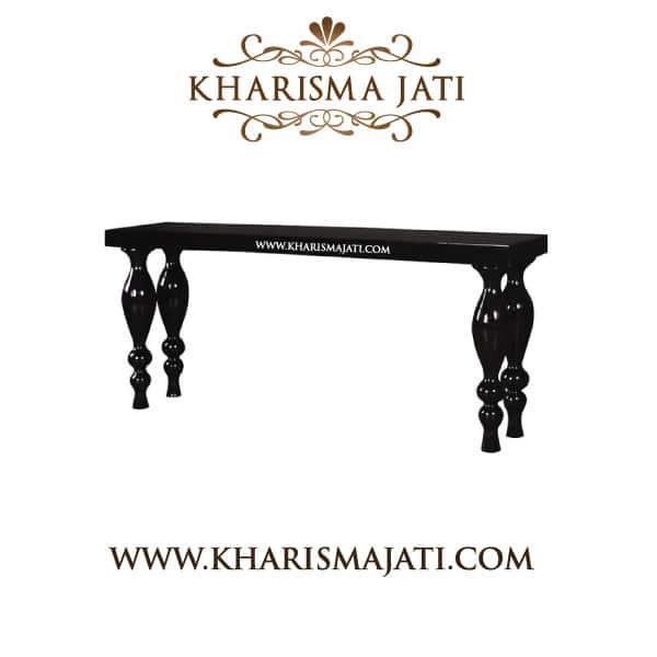 emille console table, kharisma jati furniture