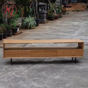james tv stand, kharisma jati furniture
