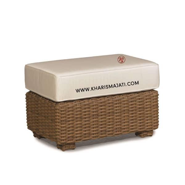 ESCORIAL OTTOMAN, kharisma jati furniture