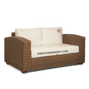 ESCORIAL SOFFA 2 SEATER, kharisma jati furniture