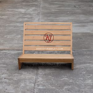 james floor chair, kharisma jati furniture