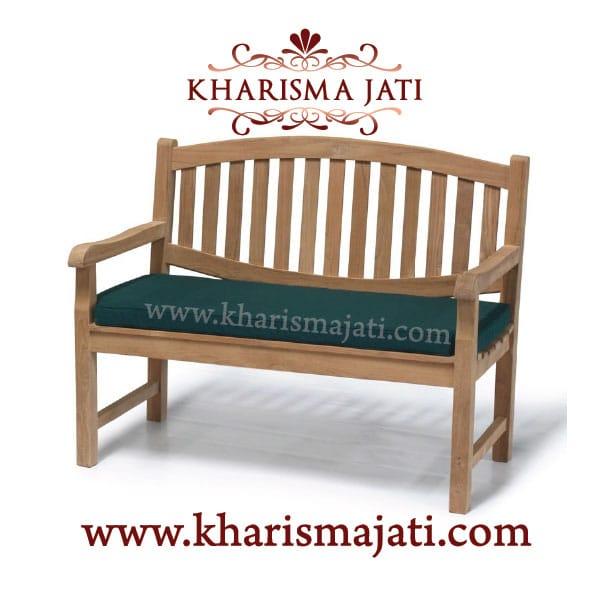 KENNAI GARDEN BENCH 120, kharisma jati furniture