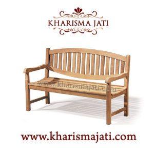 kennai garden bench 150, kharisma jati furniture