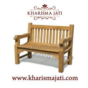 HAARLEM GARDEN BENCH 120, kharisma jati furniture