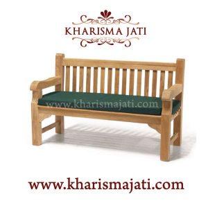 haarlem garden bench 150, kharisma jati furniture