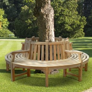 NORMANDY TREE BENCH, kharisma jati furniture