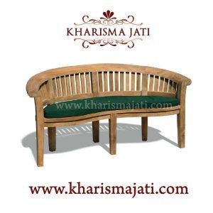 banana bench deluxe 150, kharisma jati furniture