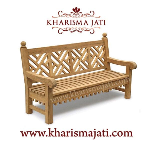 chine bench, kharisma jati furniture