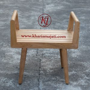 james stool chair, kharisma jati furniture