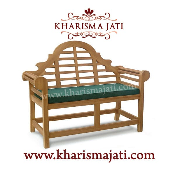 luityens bench 165, kharisma jati furniture