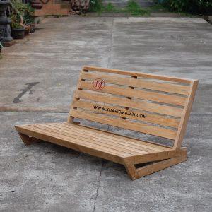 James floor bench, karismajati, indonesia furniture manufacture and wholesale